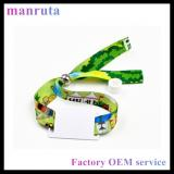 One-time use hf fabric rfid NFC woven wristband