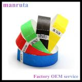 RFID paper wristbands for event management